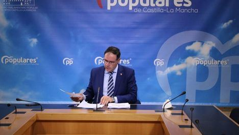 Prieto insiste en el espíritu constructivo del PP-CLM aportando medidas que sirvan para la recuperación económica y social de nuestra región