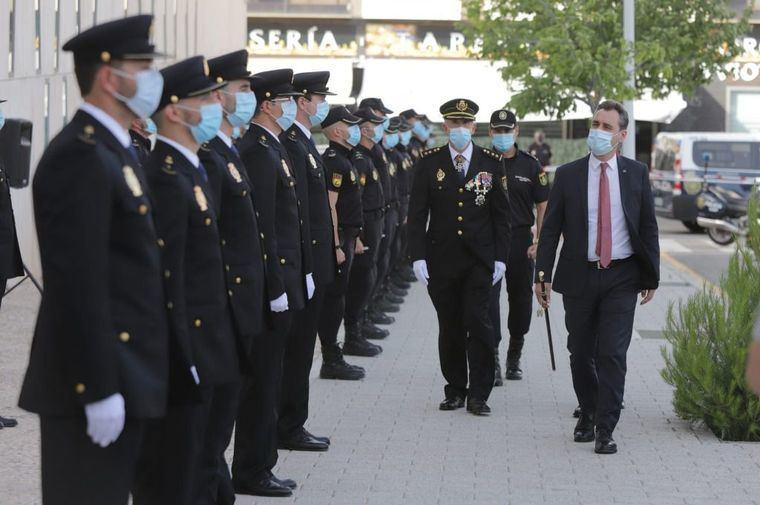 Tierraseca subraya que los nuevos agentes forman parte de la mayor promoción de la historia de la escala básica del Cuerpo Nacional de Policía