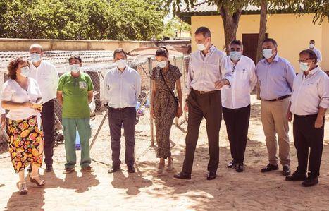 Felipe VI ensalza el trabajo de Aspadec en Cuenca: 'Es una magnífica labor que vista sobre el terreno, deslumbra'
