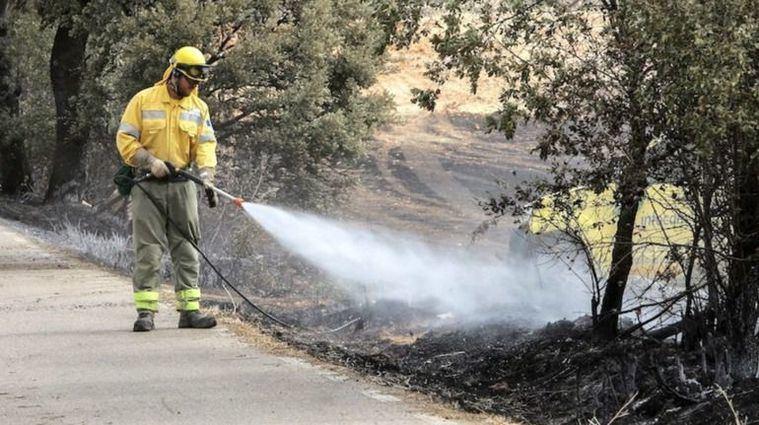 Declarados dos incendios en la provincia de Albacete este sábado: en El Bonillo y en Villarrobledo