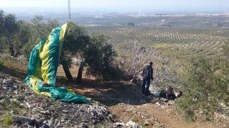 Sucesos.- Herido un hombre de 52 años en un accidente de parapente en Chinchilla de Montearagón (Albacete)