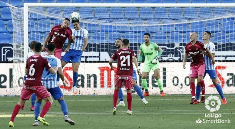 0-0. El Albacete y el Málaga no progresan, no marcan y siguen con problemas tras el empate en La Rosaleda