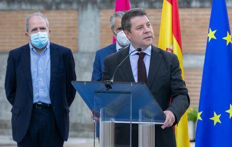 """García-Page ha avanzado algunos proyectos sanitarios: """"Vamos a empezar ya la recta definitiva de la contratación del proyecto del Hospital de Albacete"""""""