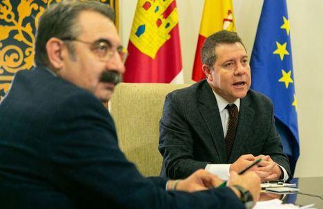 García-Page se reúne este viernes con los gerentes de los cuatro hospitales públicos dependientes del Sescam de la provincia de Albacete