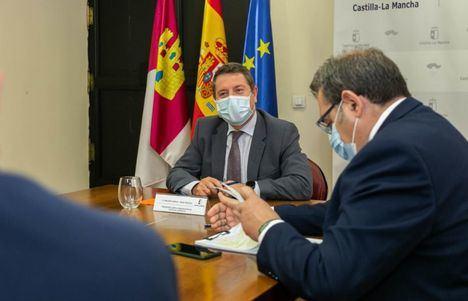 """Page se ha referido a las obras de ampliación, mejora y modernización del Complejo Hospitalario Universitario de Albacete asegurando que """"cogerán velocidad de crucero"""""""