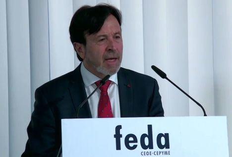 Artemio Pérez (Feda) augura una 'batalla duradera' contra la crisis, y cree que Albacete aguantará mejor el impacto