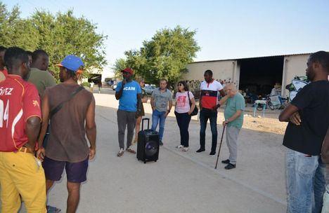 Coronavirus.- Las 370 pruebas del asentamiento de Albacete dejan 21 positivos, evacuados a un pabellón de la ciudad