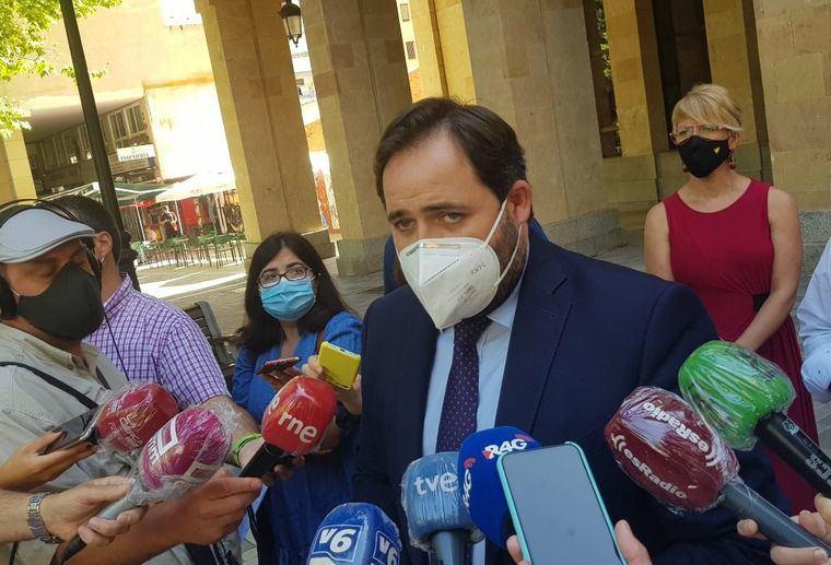 Paco Núñez asegura que tras el altercado del asentamiento de Albacete 'echó en falta' la actuación de García-Page
