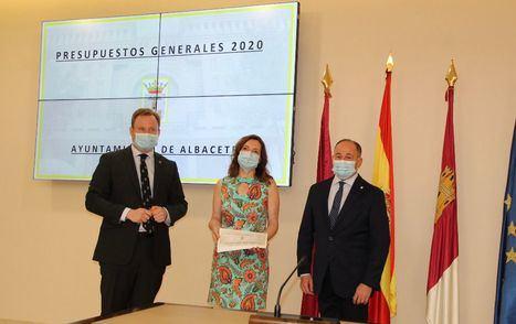 El Ayuntamiento de Albacete presenta un Presupuesto post-Covid de 153,8 millones que permitirá realizar el Pacto de Reconstrucción y dedicar 15,5 millones a inversión
