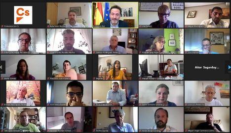 Vicente Casañ, Masías y Pérez Borda participan en el encuentro de alcaldes y tenientes de alcalde organizado por Ciudadanos