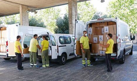 La Junta ha realizado esta semana un nuevo envío a centros sanitarios con más de 1,7 millones de artículos de protección