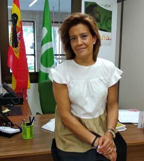Rosario Velasco, portavoz de VOX en el Ayuntamiento: