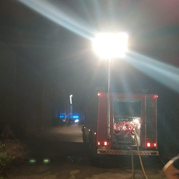Sucesos.- El incendio del bloque de viviendas de Albacete se salda con un fallecido y 8 trasladados al hospital