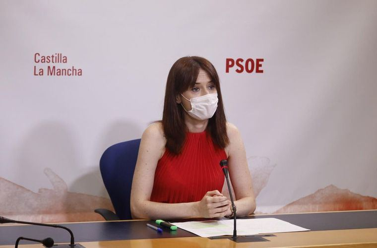 Foto: (Diputada del PSOE Diana López)