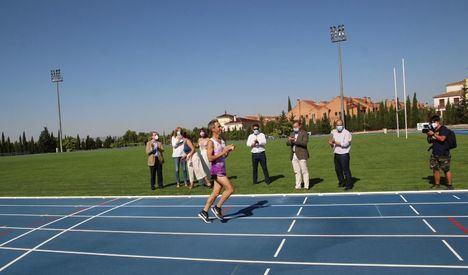 Entran en servicio las pistas de atletismo en Albacete tras renovar el pavimento con una inversión de 613.000 euros
