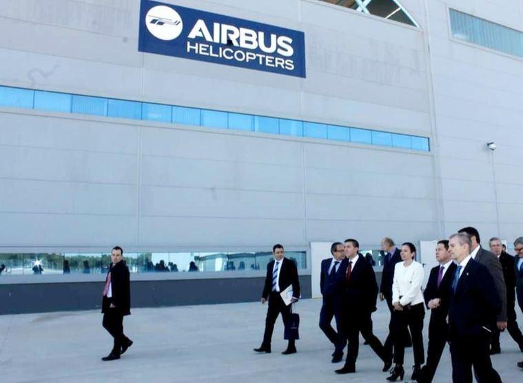 Santi Cabañero subraya el acuerdo alcanzando con Airbus en Albacete, que podría generar 'unos 400 empleos'