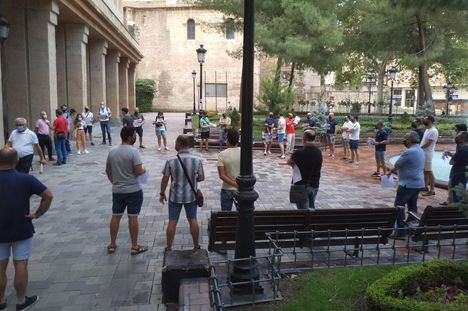 Agentes de la Policía Local de Albacete protestan por la