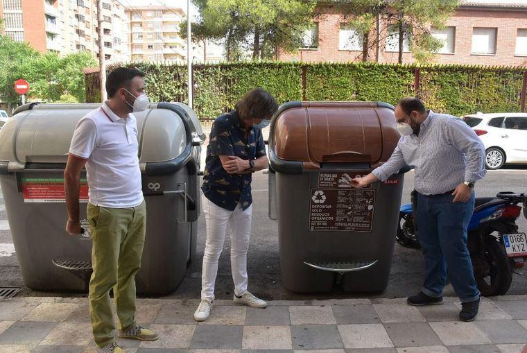 Se inicia la recogida selectiva de materia orgánica en cuatro barrios de Albacete, como experiencia piloto previa en toda la ciudad