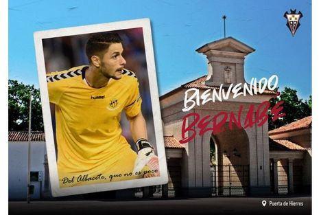 El portero Bernabé Barragán, nuevo jugador del Albacete Balompié