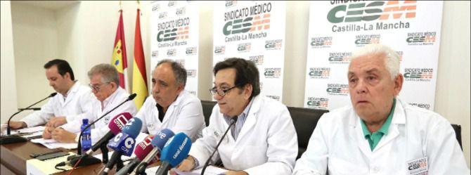 El sindicato médico de Castilla-La Mancha alerta de sobrecarga laboral en Atención Primaria y hospitales y pide más personal para atender 'la segunda oleada'