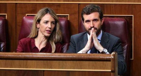 Crisis en el PP, Pablo Casado sustituye a Álvarez de Toledo y crea para Martínez-Almeida la portavocía del partido