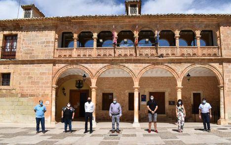 La Diputación de Albacete ejecuta en once calles de El Bonillo trabajos de conservación y mejora del firme por valor de 75.000 euros