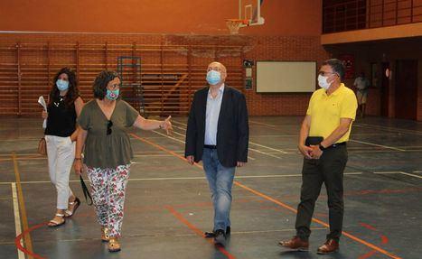 Culmina la limpieza y desinfección de los 7 pabellones deportivos de Albacete que albergaron a temporeros en aislamiento