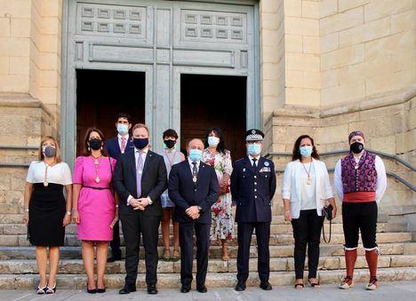El alcalde de Albacete agradece el comportamiento cívico de la ciudadanía y traslada un mensaje de recuerdo a los fallecidos por la Covid-19 en el día de la patrona