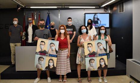 El Ayuntamiento de Albacete promueve una campaña para reconocer los comportamientos responsables de los jóvenes durante la pandemia