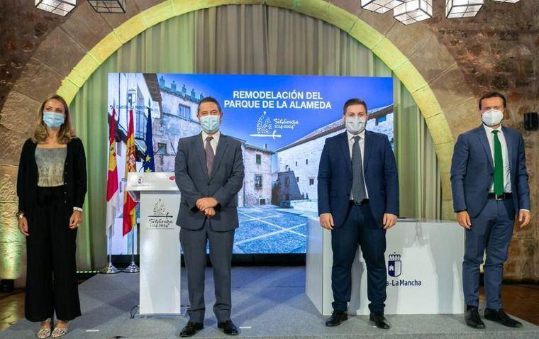 """Page anuncia que """"el 21 de septiembre se firmará el contrato del Hospital de Albacete, que entrará dentro de muy pocos meses también en las tan ansiadas obras"""""""