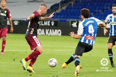 3-0. Un flojo Albacete inicia la Liga perdiendo ante un Español que mostró autoridad y seriedad