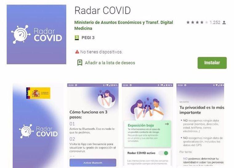 Coronavirus.- La app 'Radar Covid' arranca este viernes su puesta en marcha en Castilla-La Mancha