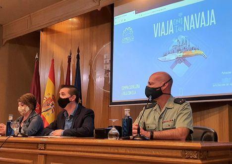 La campaña para saber cómo viajar con artículos de cuchillería recibe apoyo económico de la Diputación de Albacete