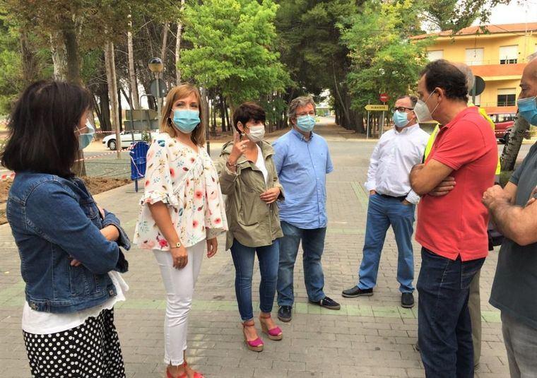 El Plan de Empleo mejora las instalaciones del Cementerio municipal en Albacete