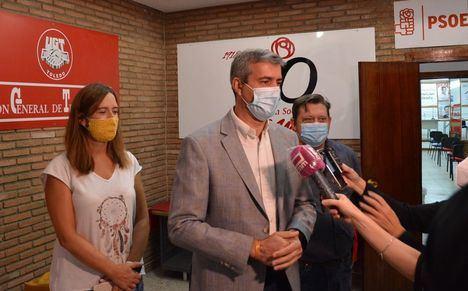 El PSOE pide a Paco Núñez que 'haga caso' a sus compañeros de Madrid y 'deje de politizar' con el coronavirus