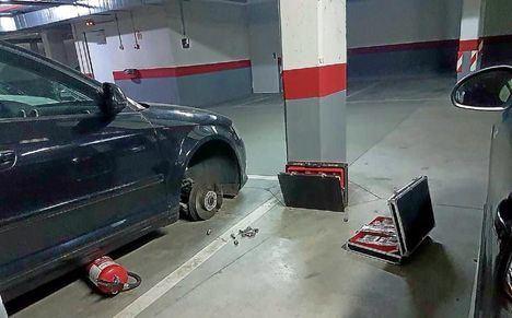 Piden cinco años de cárcel para un hombre por robar en los coches estacionados en dos garajes de Albacete