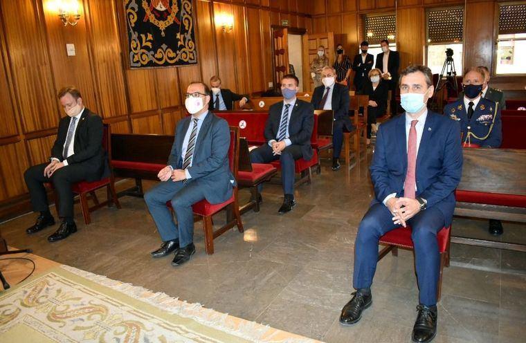 Santi Cabañero asiste al Acto Solemne de Apertura de Tribunales con motivo del inicio del Año Judicial en Castilla-La Mancha