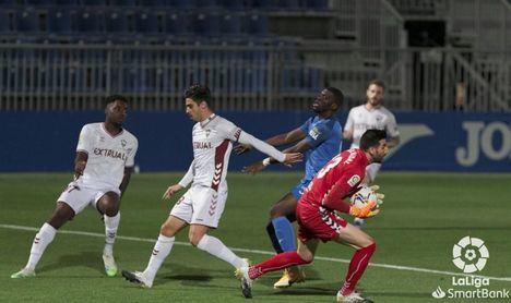 1-0. El Fuenlabrada agrava el mal inicio de liga del Albacete que sigue cuesta abajo