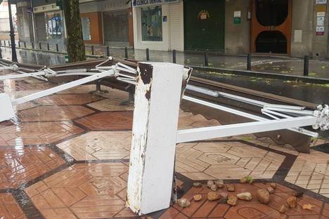 Castilla-La Mancha contabiliza 28 incidentes por el viento solo desde las 10.00 a las 12.00 horas