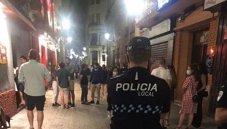 La Policía Local de Albacete sigue multando por bailar en establecimientos, no guardar distancias y no usar mascarillas