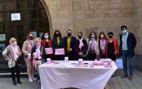 El Ayuntamiento de Albacete lanza un mensaje de prevención y pide a las mujeres que no bajen la guardia en el Día del Cáncer de Mama
