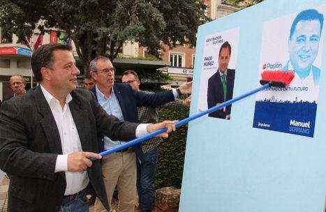 (Foto: Manuel Serrano será el nuevo presidente del PP en Albacete, en sustitución de Vicente Aroca)