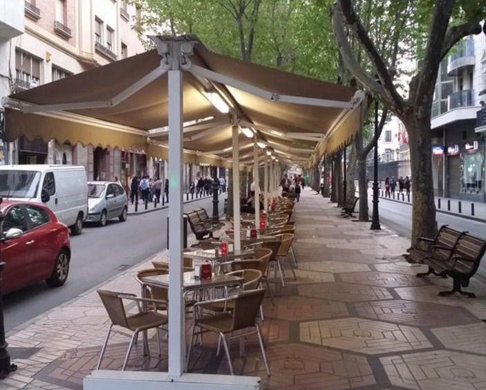 Las terrazas en Albacete no pagarán tasa en 2021 y las autorizadas renovarán su prórroga automáticamente