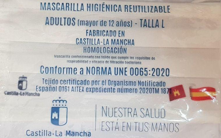 Los ciudadanos de Castilla-La Mancha ya han recogido más de un millón de las mascarillas que el Gobierno regional ha puesto a su disposición
