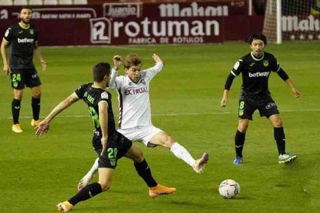 0-0. Importante empate del Albacete contra un peligroso Leganés en el Carlos Belmonte