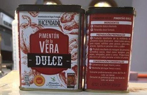 Sanidad pide que el pimentón dulce de Mercadona no se consuma por alerta de salmonella
