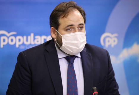 """Otro ridículo más de Paco Núñez, """"ahora recula"""" y el PP sí acudirá a la inauguración del Hospital de Toledo por 'respeto y lealtad a la Corona'"""