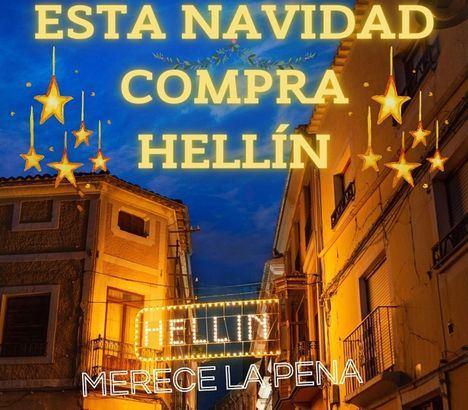 En marcha la campaña 'Esta Navidad, compra Hellín' para apoyar a los comerciantes y productos de la localidad albaceteña