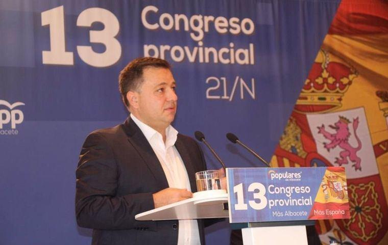 Manuel Serrano, nuevo presidente del PP con el 99,08 por ciento de los votos , incorporará al Comité Ejecutivo Provincial a Marín, Cerdán, Cuenca, Garrido y Bayod