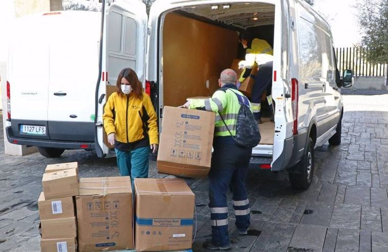 Coronavirus.- Los centros sanitarios de la región han recibido esta semana cerca de 672.000 artículos de protección